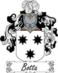 Botta Family Crest, Coat of Arms