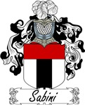 Sabini Family Crest, Coat of Arms