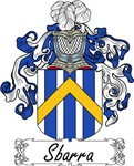 Sbarra Family Crest, Coat of Arms