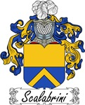 Scalabrini Family Crest, Coat of Arms
