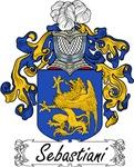 Sebastiani Family Crest, Coat of Arms