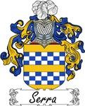 Serra Family Crest, Coat of Arms