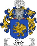 Sisto Family Crest, Coat of Arms