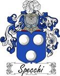 Specchi Family Crest, Coat of Arms