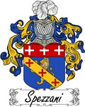 Spezzani Family Crest, Coat of Arms