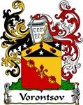 Vorontsov Family Crest, Coat of Arms
