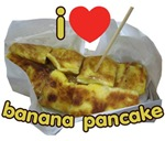 I Heart (Love) Banana Pancake