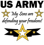 US ARMY - My Sons are defending your freedom!