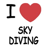 I heart sky diving