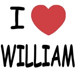 I heart william