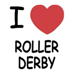 I heart roller derby