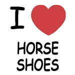 I heart horse shoes