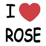 I heart rose