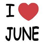 I heart june
