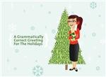 Grammar Girl Holiday Card