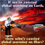 Martian Global Warming