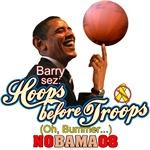 Hoops before Troops