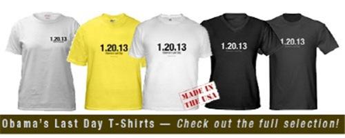 Obama's Last Day Shirts