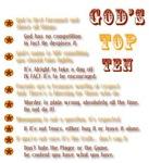 God's Top Ten List