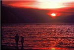 Sunset Darwin Beach