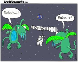 Astronaut Tetherball