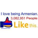 I LOVE BEING ARMENIAN