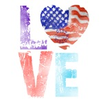 LOVE - PROUD TO BE AMERICAN