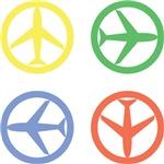 PEACE AIRPLANE