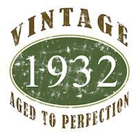 Vintage 1932 Retro