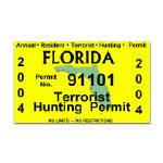 Terrorist Hunting Permits