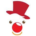 Cute simple Clown face