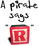 A pirate says