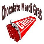 Chocolate Mardi Gras