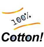 '100% Cotton!'
