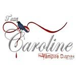 Team Caroline The Vampire Diaries Raven Ribbon2