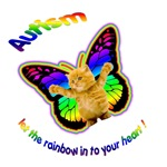 Autism let the rainbow in to your heart !