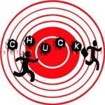 Chucktv Ninja man vs Interesct  man target board