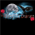 The Vampire Diaries Raven Moon Blue Clouds Roses