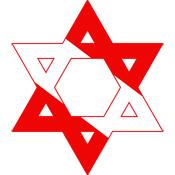 Scuba Flag Star of David