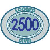 2500 Logged Dives