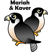 Birdorable Mariah & Kaver