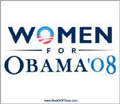 """Women for Obama"""