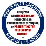 Oppose The HHS Mandate