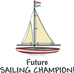 Unique Baby Gifts - Future Sailing Champion