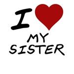 I heart my sister