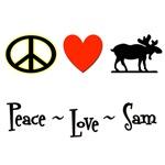 Peace - Love - Sam