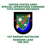 1st Ranger Battalion Flash
