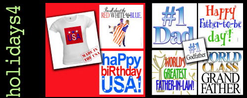 July 4 T-shirts, USA, Father's Day Father to Be Gi