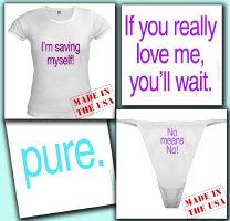 Abstinence; true love waits