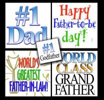 Dads, grandfathers, stepdads, new dads t-shirts